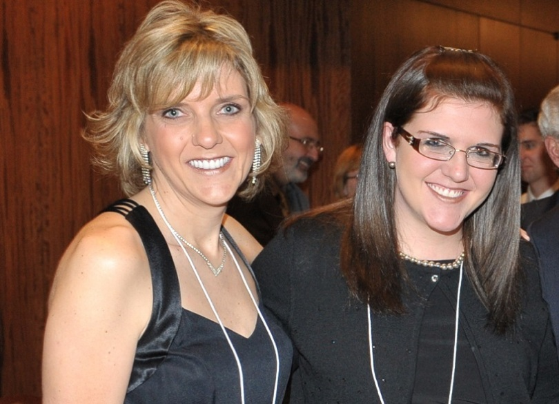 (l to r) Kelly Ann Hickey Lynch and her daughter, Shannon Lapp